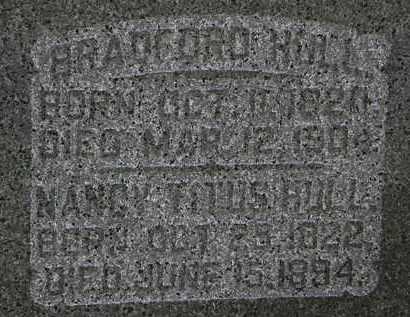 HULL, BRADFORD - Morrow County, Ohio | BRADFORD HULL - Ohio Gravestone Photos