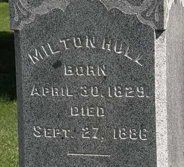 HULL, MILTON - Morrow County, Ohio   MILTON HULL - Ohio Gravestone Photos