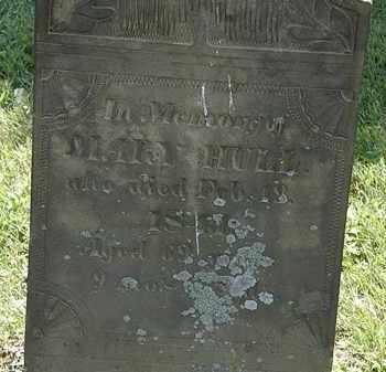HULL, MARY - Morrow County, Ohio | MARY HULL - Ohio Gravestone Photos