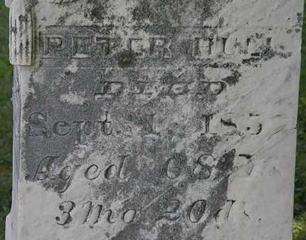 HULL, PETER - Morrow County, Ohio | PETER HULL - Ohio Gravestone Photos