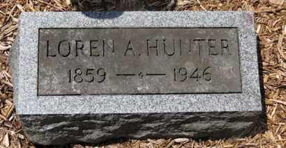 HUNTER, LOREN A. - Morrow County, Ohio   LOREN A. HUNTER - Ohio Gravestone Photos