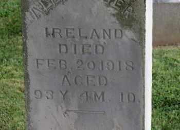 IRELAND, ALEXANDER - Morrow County, Ohio | ALEXANDER IRELAND - Ohio Gravestone Photos