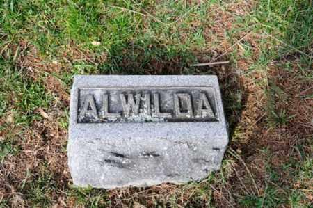 IRWIN, ALWILDA - Morrow County, Ohio | ALWILDA IRWIN - Ohio Gravestone Photos