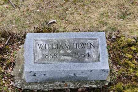 IRWIN, WILLIAM - Morrow County, Ohio   WILLIAM IRWIN - Ohio Gravestone Photos