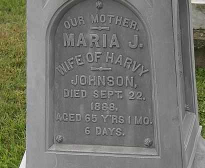 JOHNSON, MARIA J. - Morrow County, Ohio | MARIA J. JOHNSON - Ohio Gravestone Photos