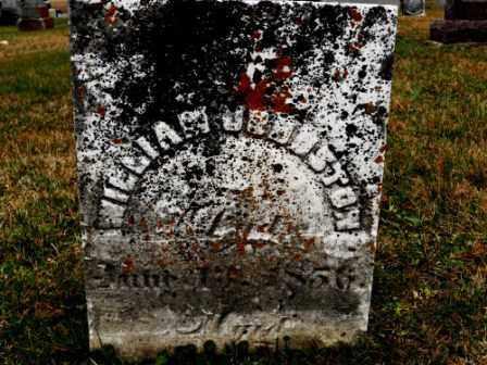 JOHNSTON, WILLIAM - Morrow County, Ohio | WILLIAM JOHNSTON - Ohio Gravestone Photos