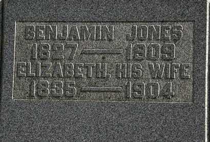 JONES, BENJAMIN - Morrow County, Ohio | BENJAMIN JONES - Ohio Gravestone Photos