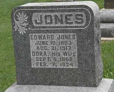 JONES, EDWARD - Morrow County, Ohio | EDWARD JONES - Ohio Gravestone Photos