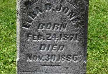 JONES, ELBA B. - Morrow County, Ohio | ELBA B. JONES - Ohio Gravestone Photos