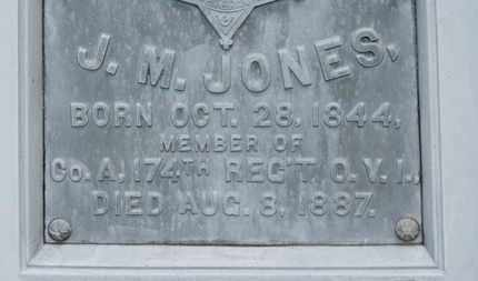 JONES, J.M. - Morrow County, Ohio | J.M. JONES - Ohio Gravestone Photos