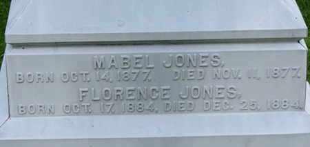 JONES, MABEL - Morrow County, Ohio   MABEL JONES - Ohio Gravestone Photos