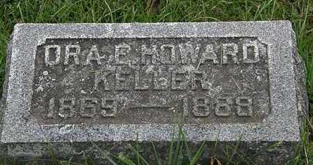 HOWARD KELLER, ORA E. - Morrow County, Ohio | ORA E. HOWARD KELLER - Ohio Gravestone Photos