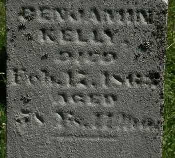 KELLY, BENJAMIN - Morrow County, Ohio | BENJAMIN KELLY - Ohio Gravestone Photos