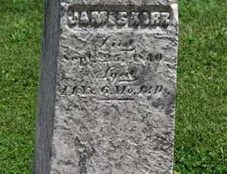 KERR, JAMES - Morrow County, Ohio   JAMES KERR - Ohio Gravestone Photos