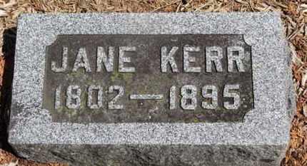 KERR, JAME - Morrow County, Ohio   JAME KERR - Ohio Gravestone Photos