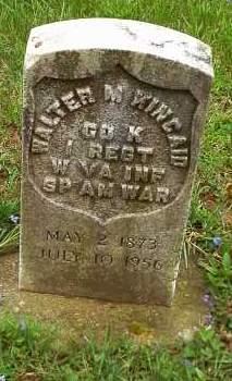 KINCAID, WALTER M - Morrow County, Ohio | WALTER M KINCAID - Ohio Gravestone Photos