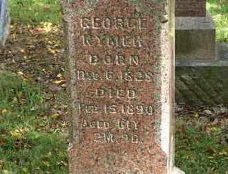 KYMER, GEORGE - Morrow County, Ohio | GEORGE KYMER - Ohio Gravestone Photos