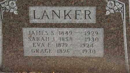 LANKER, SARAH J. - Morrow County, Ohio | SARAH J. LANKER - Ohio Gravestone Photos