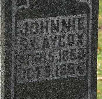 LAYCOX, JOHNNIE S. - Morrow County, Ohio | JOHNNIE S. LAYCOX - Ohio Gravestone Photos