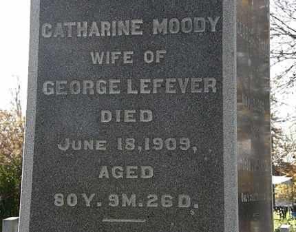 LEFEVER, CATHARINE - Morrow County, Ohio | CATHARINE LEFEVER - Ohio Gravestone Photos