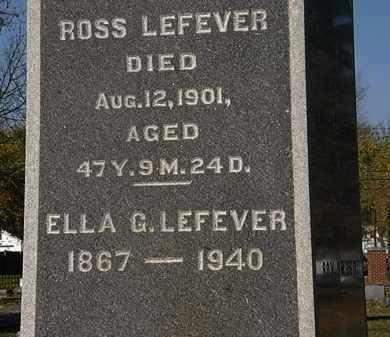 LEFEVER, ROSS - Morrow County, Ohio | ROSS LEFEVER - Ohio Gravestone Photos