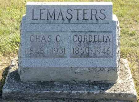 WAITE LEMASTERS, CORDELIA - Morrow County, Ohio   CORDELIA WAITE LEMASTERS - Ohio Gravestone Photos