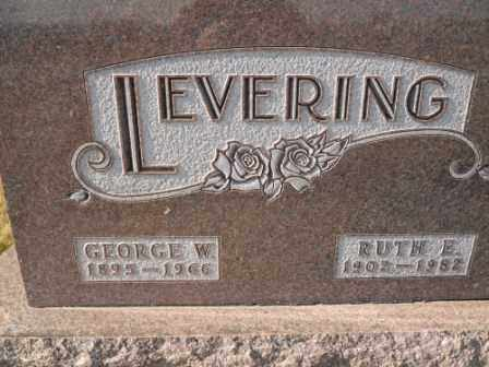 LEVERING, RUTH E - Morrow County, Ohio | RUTH E LEVERING - Ohio Gravestone Photos