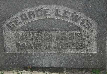 LEWIS, GEORGE - Morrow County, Ohio | GEORGE LEWIS - Ohio Gravestone Photos