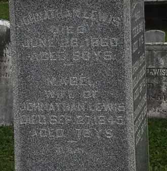 LEWIS, JONATHAN - Morrow County, Ohio | JONATHAN LEWIS - Ohio Gravestone Photos