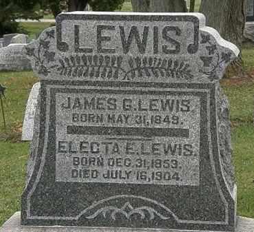 LEWIS, JAMES G. - Morrow County, Ohio | JAMES G. LEWIS - Ohio Gravestone Photos