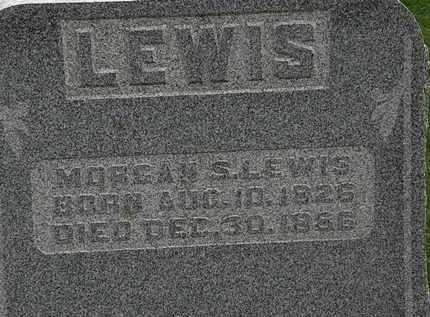 LEWIS, MORGAN S. - Morrow County, Ohio   MORGAN S. LEWIS - Ohio Gravestone Photos