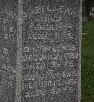 LEWIS, MABEL - Morrow County, Ohio | MABEL LEWIS - Ohio Gravestone Photos