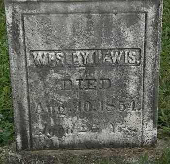 LEWIS, WESLEY - Morrow County, Ohio | WESLEY LEWIS - Ohio Gravestone Photos