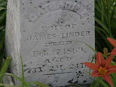 LINDER, JAMES - Morrow County, Ohio   JAMES LINDER - Ohio Gravestone Photos