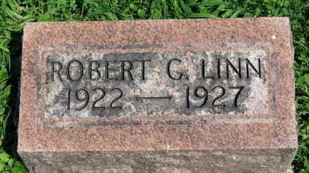 LINN, ROBERT G. - Morrow County, Ohio   ROBERT G. LINN - Ohio Gravestone Photos