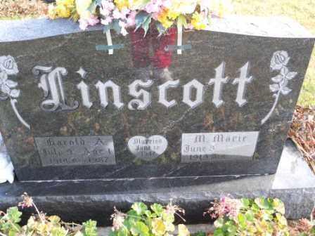 LINSCOTT, M MARIE - Morrow County, Ohio | M MARIE LINSCOTT - Ohio Gravestone Photos
