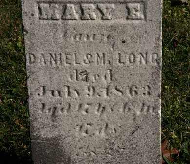 LONG, M. - Morrow County, Ohio   M. LONG - Ohio Gravestone Photos