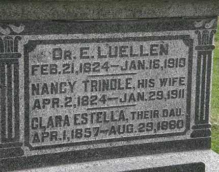 LUELLEN, DR. E. - Morrow County, Ohio | DR. E. LUELLEN - Ohio Gravestone Photos