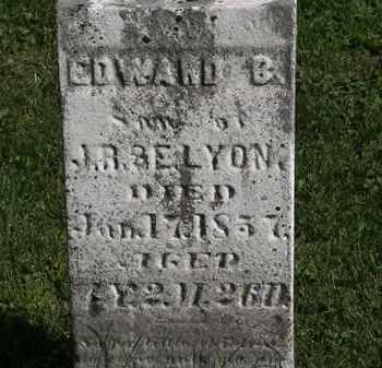 LYON, J.R. - Morrow County, Ohio | J.R. LYON - Ohio Gravestone Photos