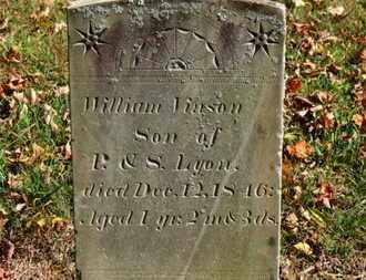LYON, P. - Morrow County, Ohio | P. LYON - Ohio Gravestone Photos