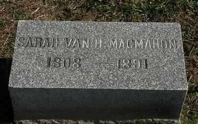 MACMAHON, SARAH VAN H. - Morrow County, Ohio | SARAH VAN H. MACMAHON - Ohio Gravestone Photos