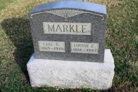 MARKLE, CARL G - Morrow County, Ohio | CARL G MARKLE - Ohio Gravestone Photos