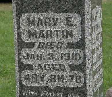 MARTIN, MARY E. - Morrow County, Ohio | MARY E. MARTIN - Ohio Gravestone Photos
