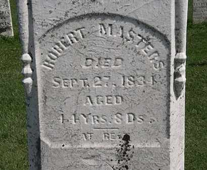 MASTERS, ROBERT - Morrow County, Ohio | ROBERT MASTERS - Ohio Gravestone Photos