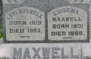 MAXWELL, LUSENA - Morrow County, Ohio   LUSENA MAXWELL - Ohio Gravestone Photos
