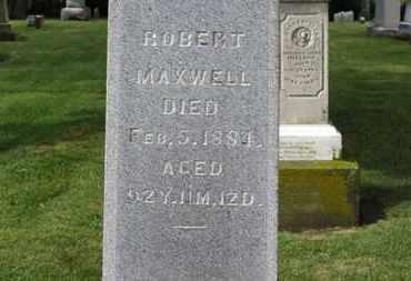 MAXWELL, ROBERT - Morrow County, Ohio | ROBERT MAXWELL - Ohio Gravestone Photos