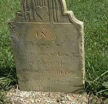 MAY, MARY - Morrow County, Ohio | MARY MAY - Ohio Gravestone Photos