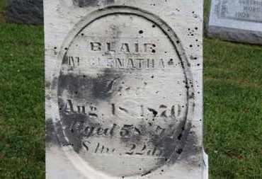 MCCLENATHAN, BLAIR - Morrow County, Ohio | BLAIR MCCLENATHAN - Ohio Gravestone Photos
