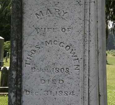 MCCOWEN, MARY - Morrow County, Ohio | MARY MCCOWEN - Ohio Gravestone Photos