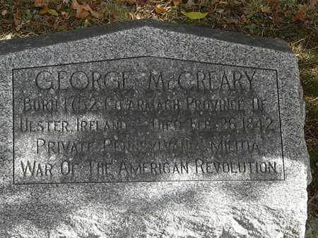 MCCREARY, GEORGE - Morrow County, Ohio   GEORGE MCCREARY - Ohio Gravestone Photos